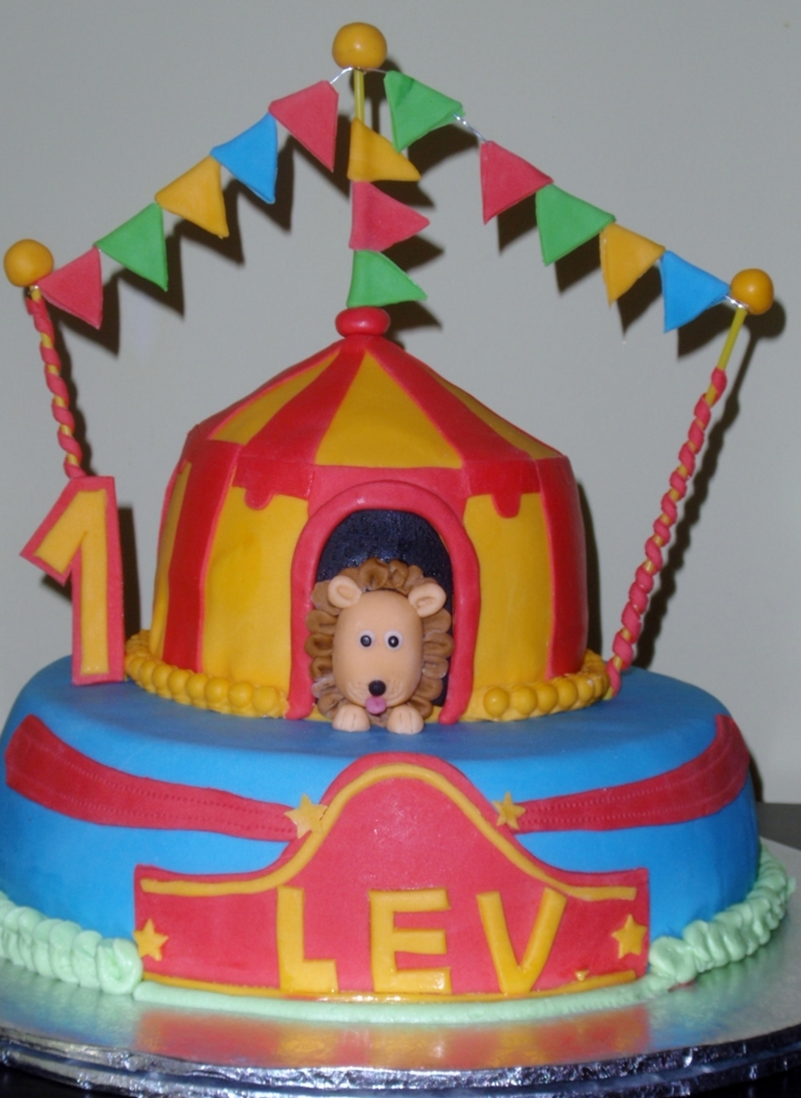 Lion In Circus on Cake Central