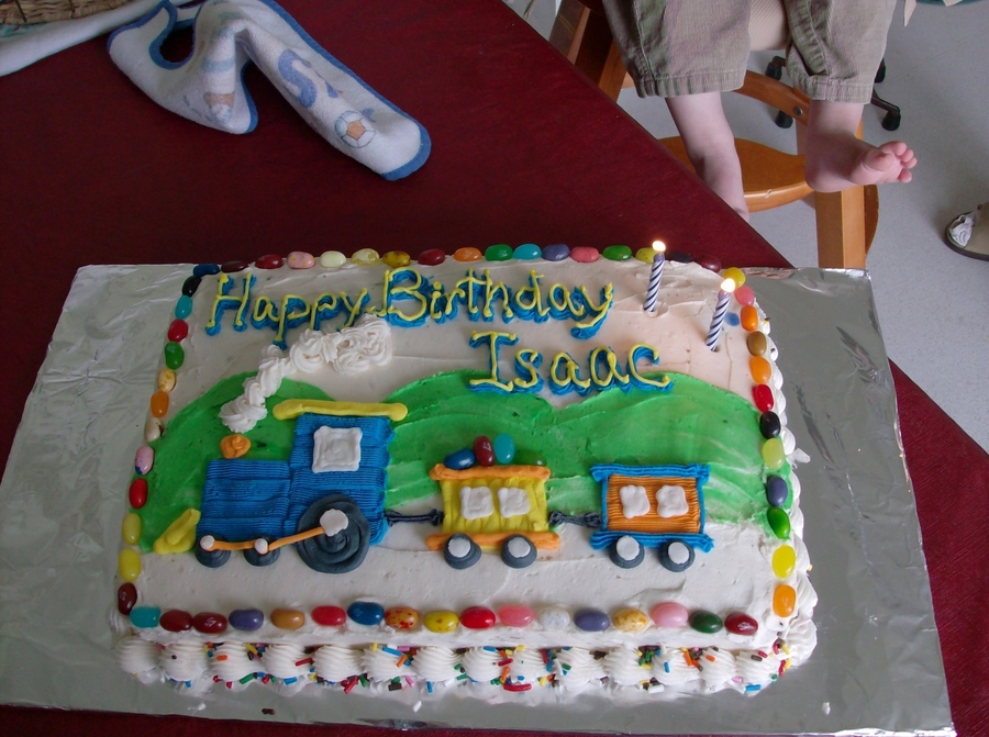 My Son's 2Nd Birthday on Cake Central