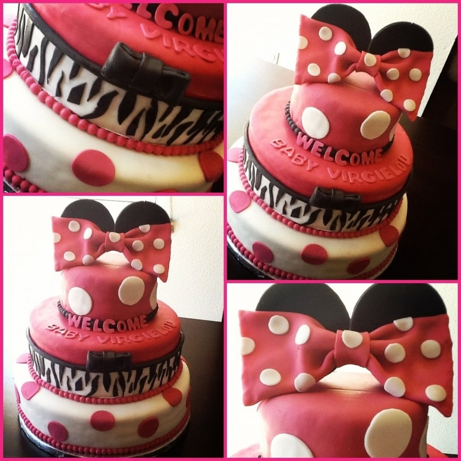 minnie mouse themed baby shower