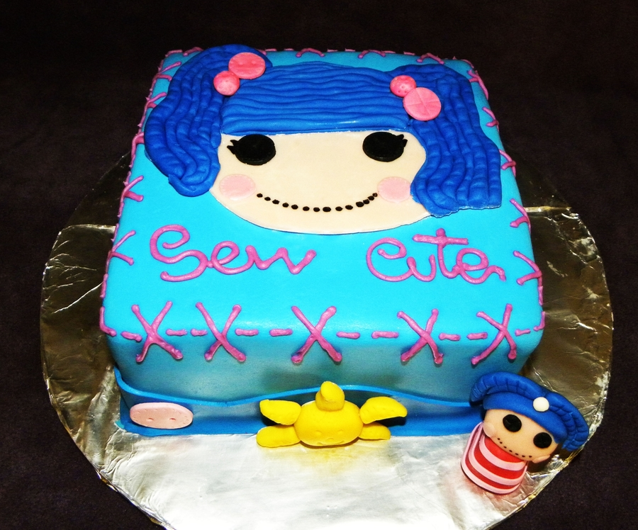 Lala Loopsy Cake! on Cake Central
