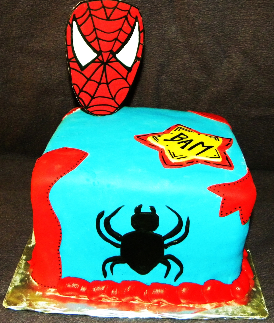Spiderman Cake! on Cake Central