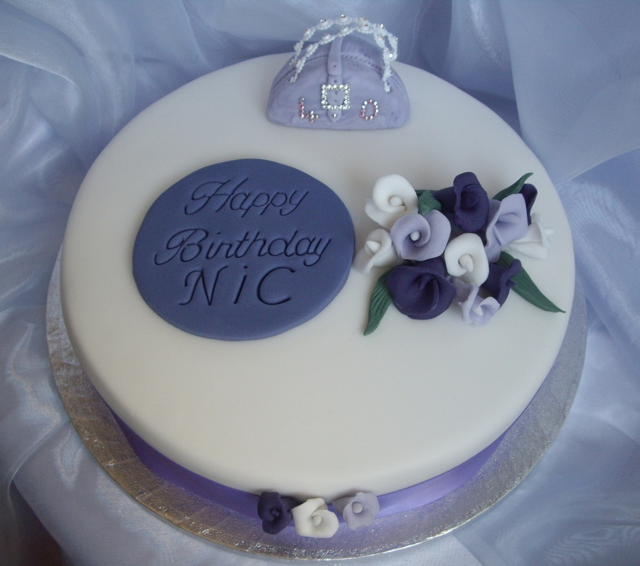 'lilac Lilies' on Cake Central