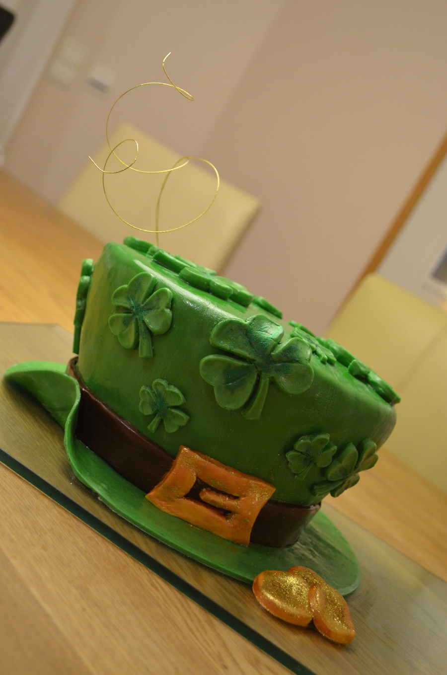 St Patrick's Day Cake on Cake Central