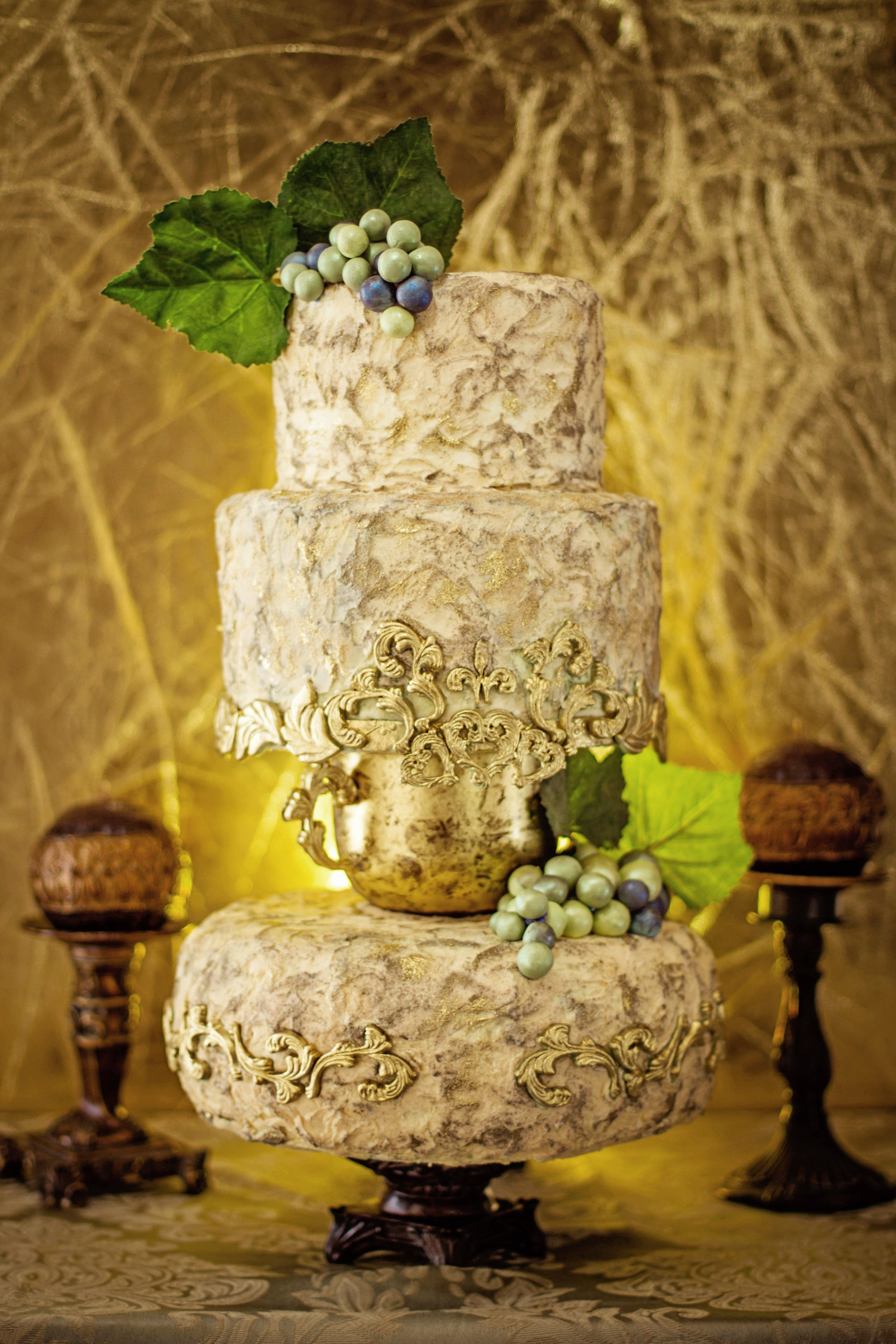Round Wedding Cakes CakeCentral