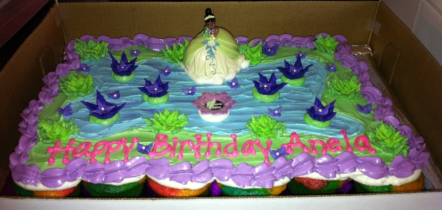 Princess Tiana Cupcake Cake on Cake Central