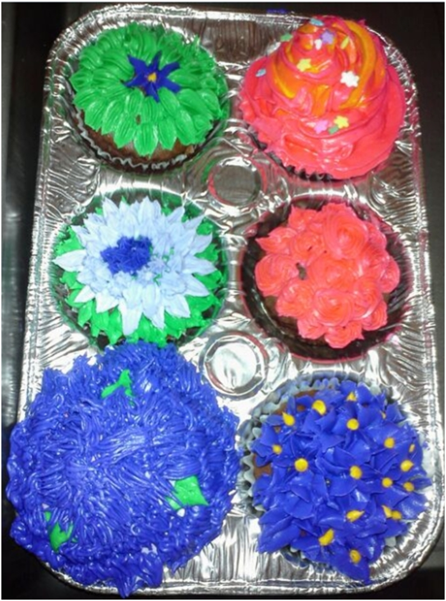 Colorful Cupcakes!  on Cake Central