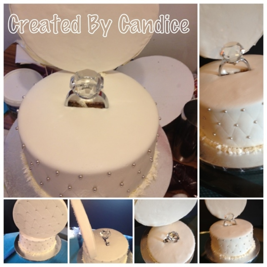 Ring Box on Cake Central