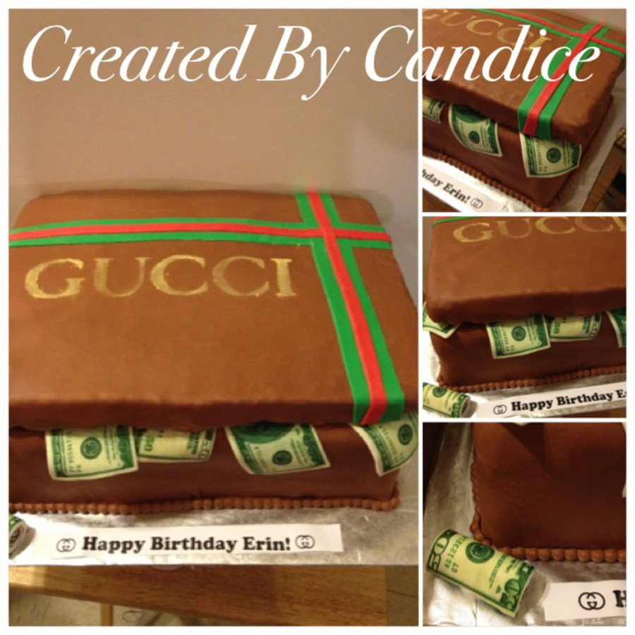Gucci Stashbox on Cake Central