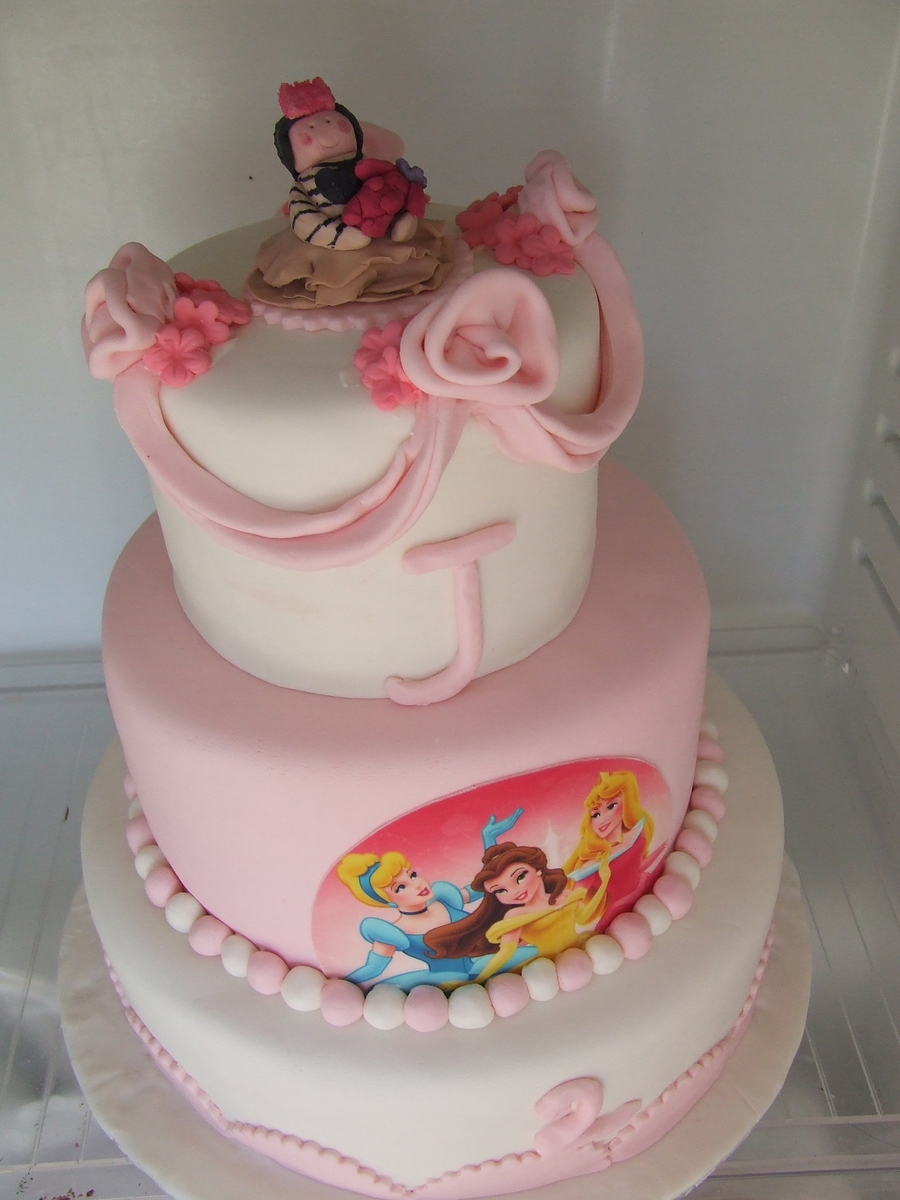 Little Girl's Birthday Cake on Cake Central