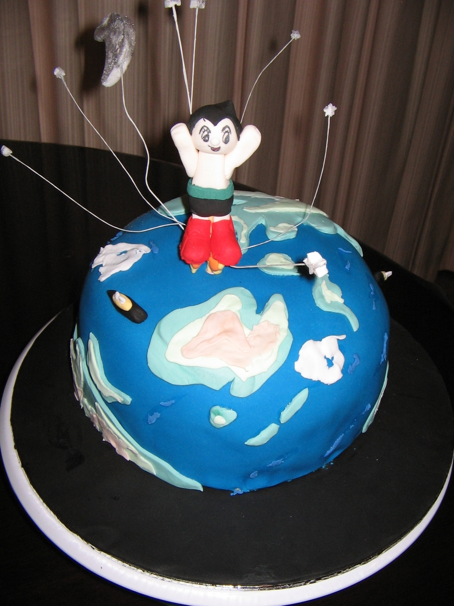 Astro Boy B'day Cake on Cake Central