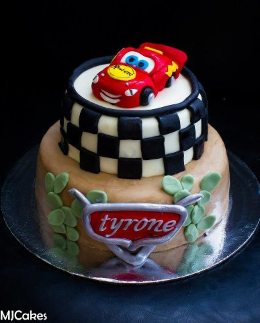 Cars Lightening Mcqueen Cake  on Cake Central