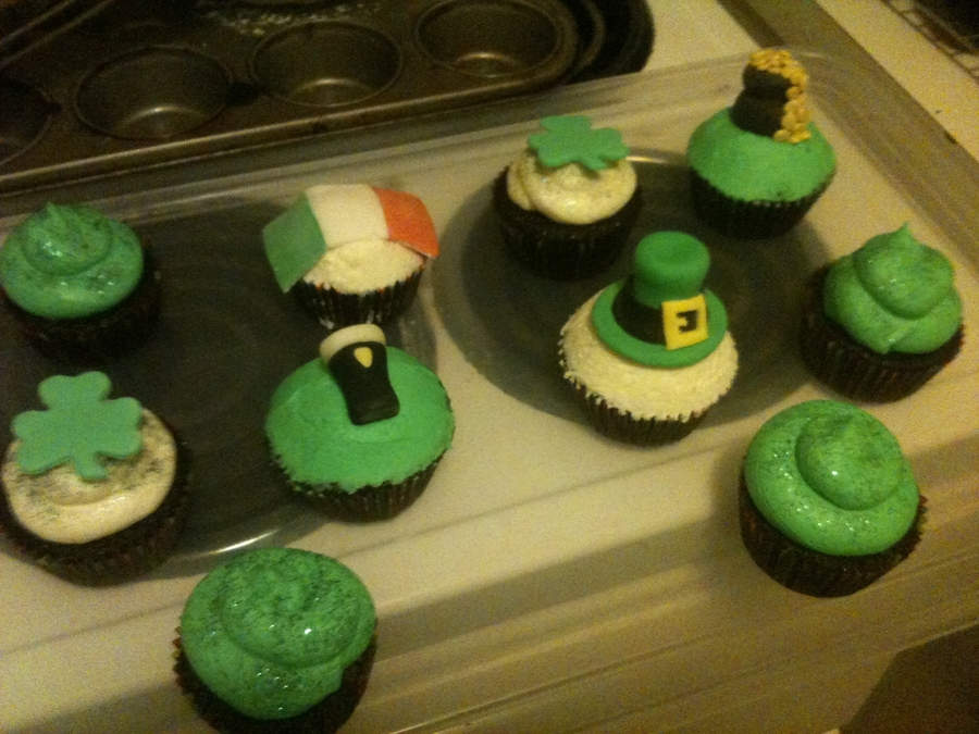 St Patricks Cupcakes on Cake Central