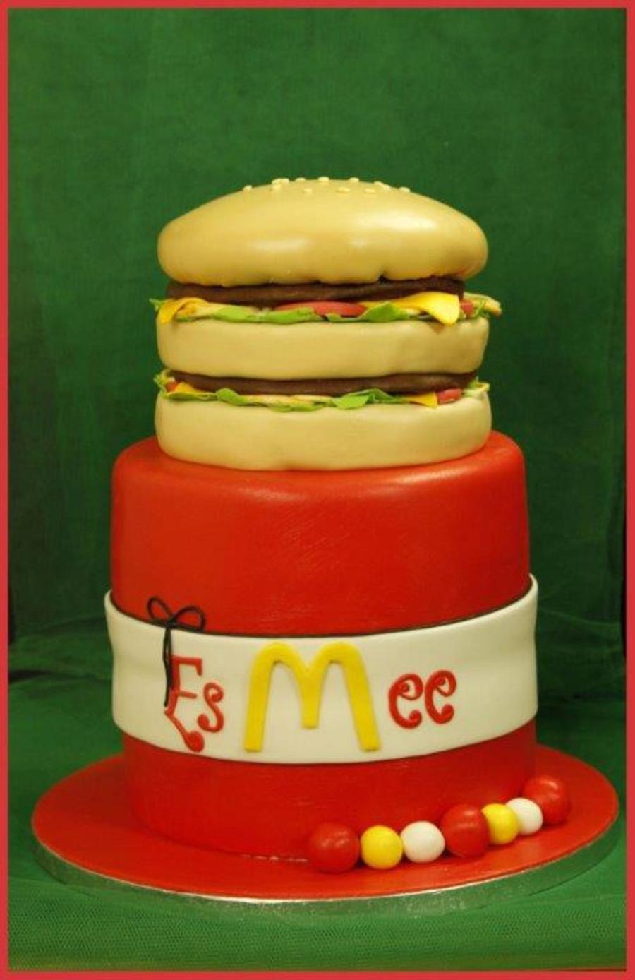 Taart Big Mac on Cake Central