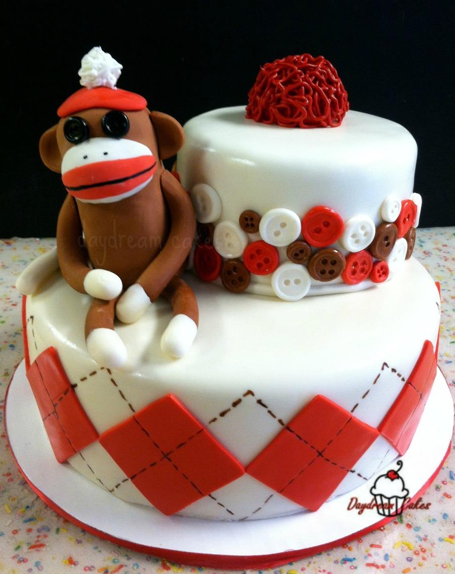 Argyle Cake Decorating