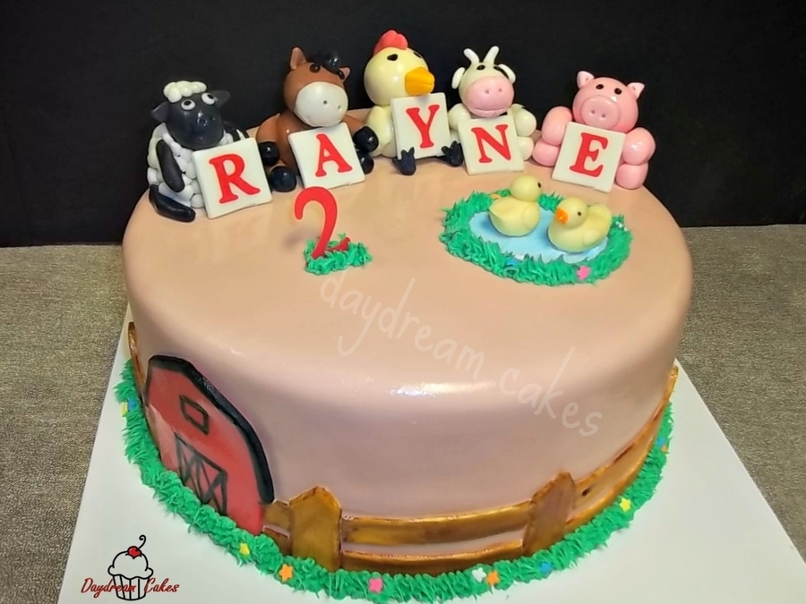 Barnyard Fun  on Cake Central