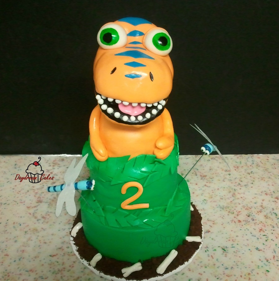 Buddy Dino on Cake Central