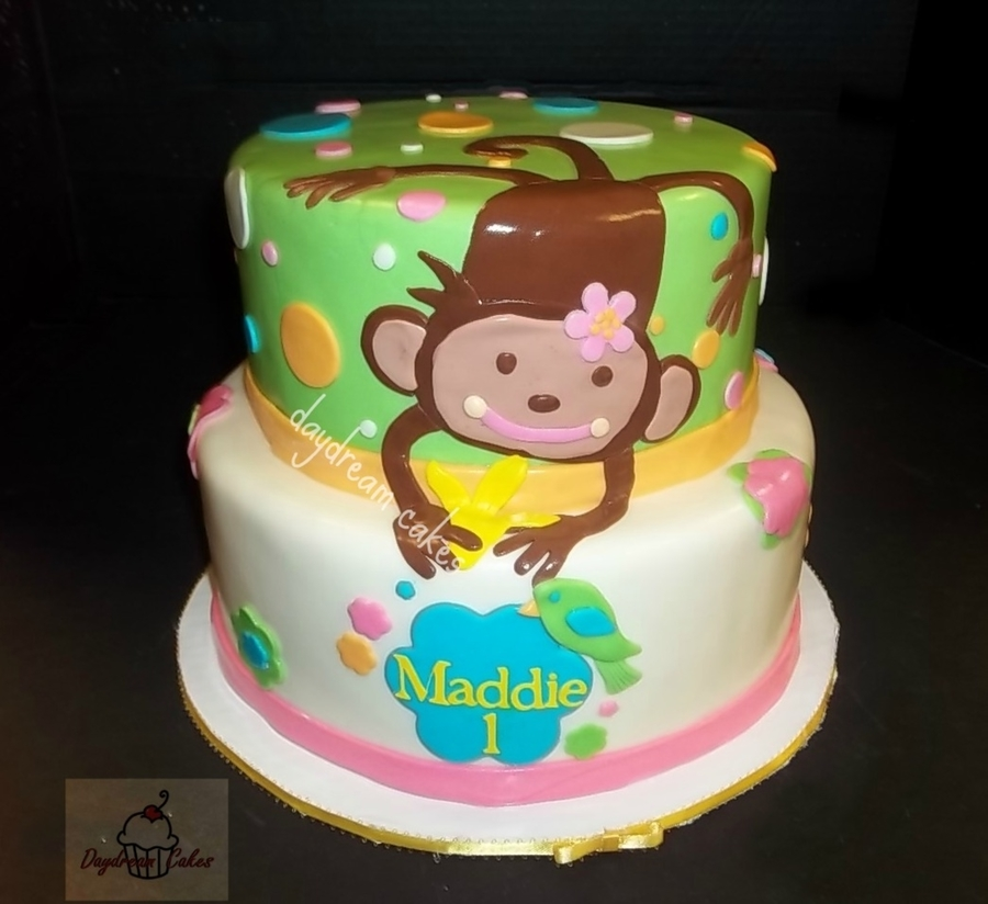 Happy Birthday Little Monkey  on Cake Central