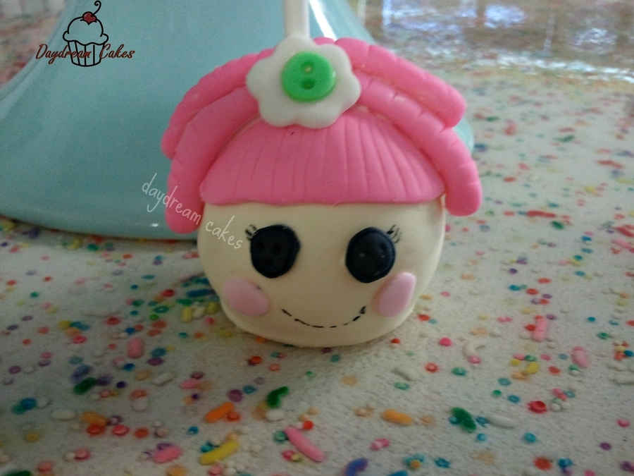 Lalaloopsy Cake Pop on Cake Central