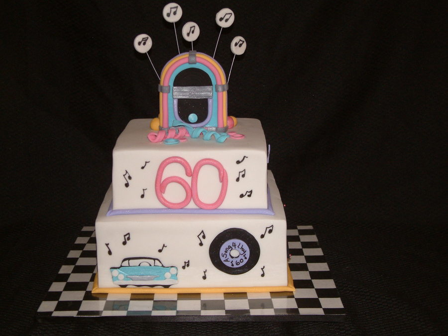 50S Style Fondant Covered