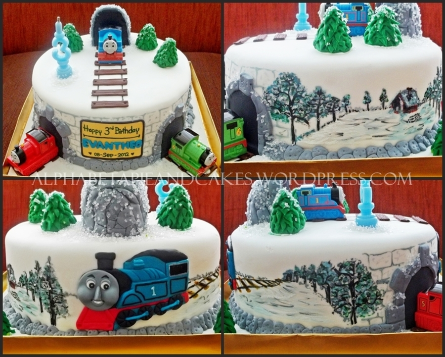 Thomas & Friends In Winter on Cake Central