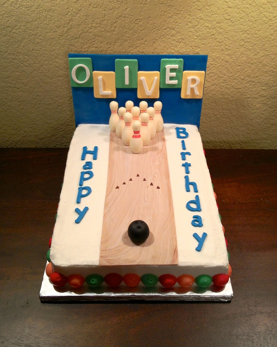 Bowling Alley Cake Recipe