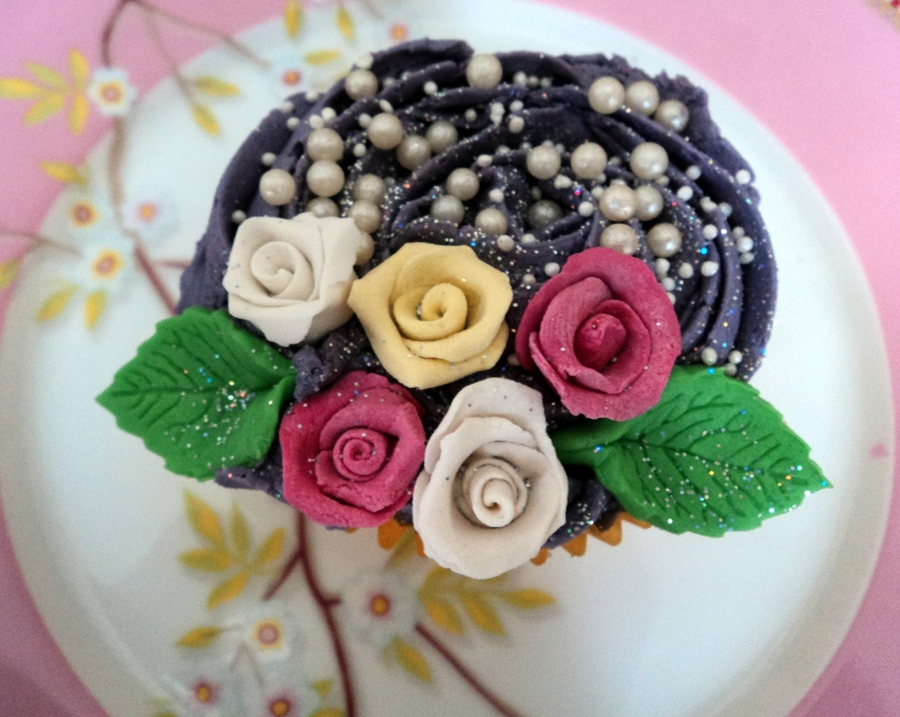 Beautiful Flower Cupcake on Cake Central