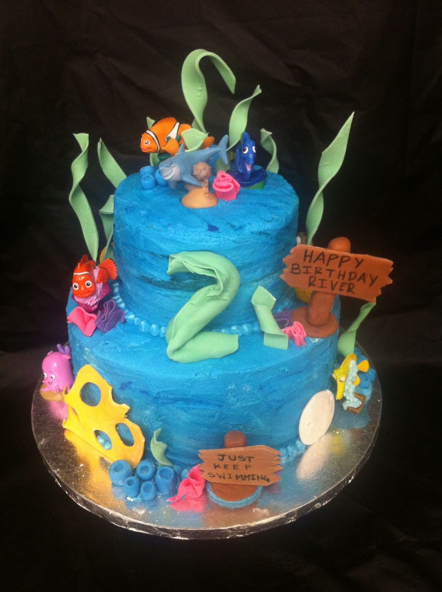 Finding Nemo Birthday Cake on Cake Central