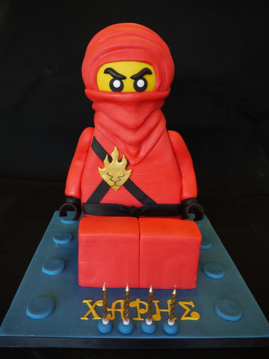 Red Lego Ninjago Cake Cakecentral Com