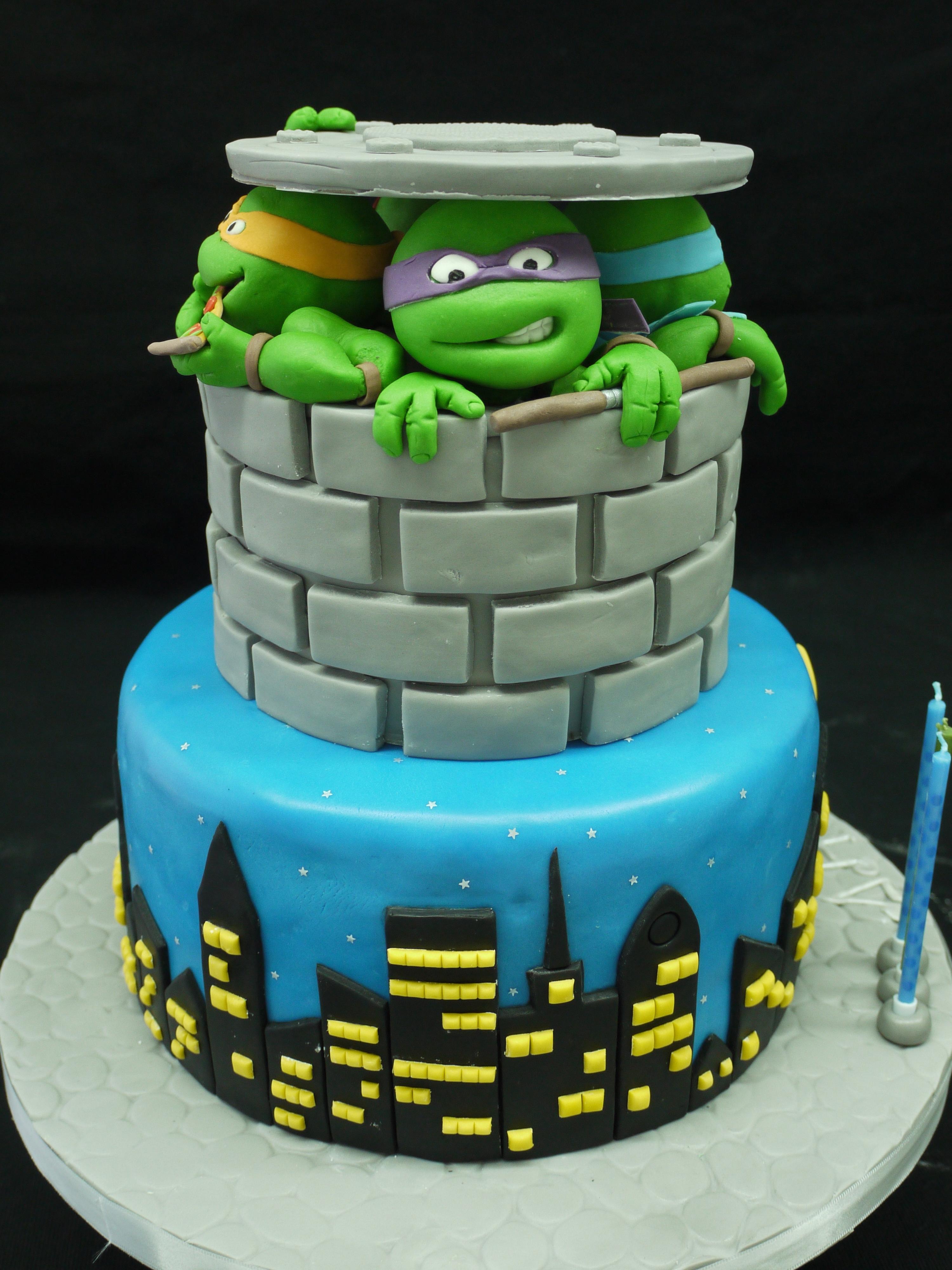 Teenage Mutant Ninja Turtles - CakeCentral.com