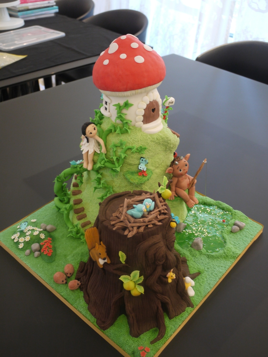 Enchanted Forest Cake - CakeCentral.com