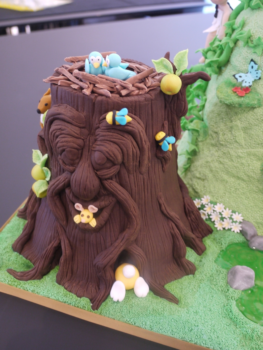 Enchanted Forest Cake Cakecentral Com