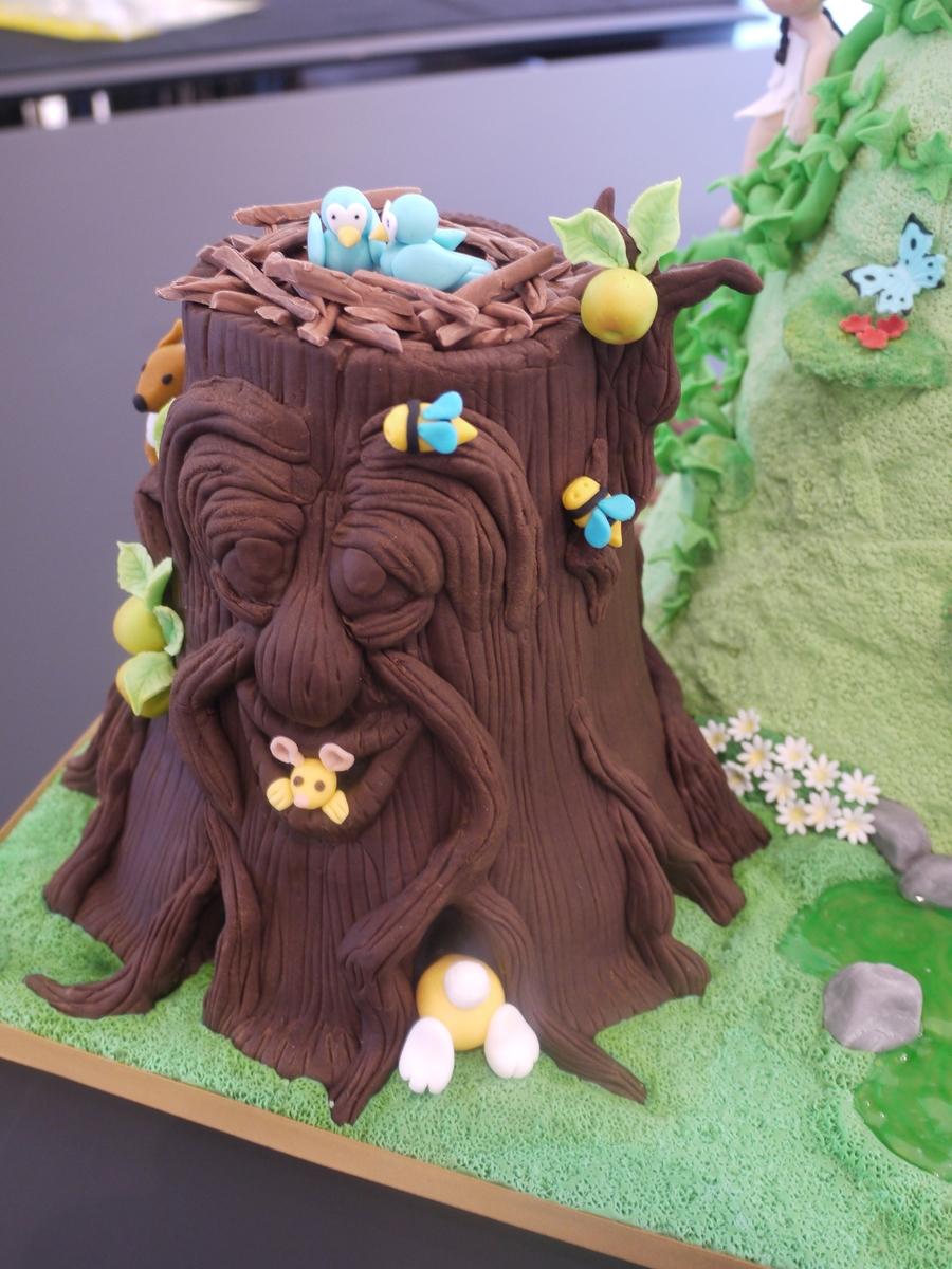 Enchanted Forest Cake Cakecentral Com