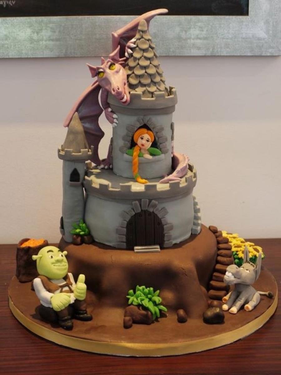 Shrek Cake Cakecentral Com