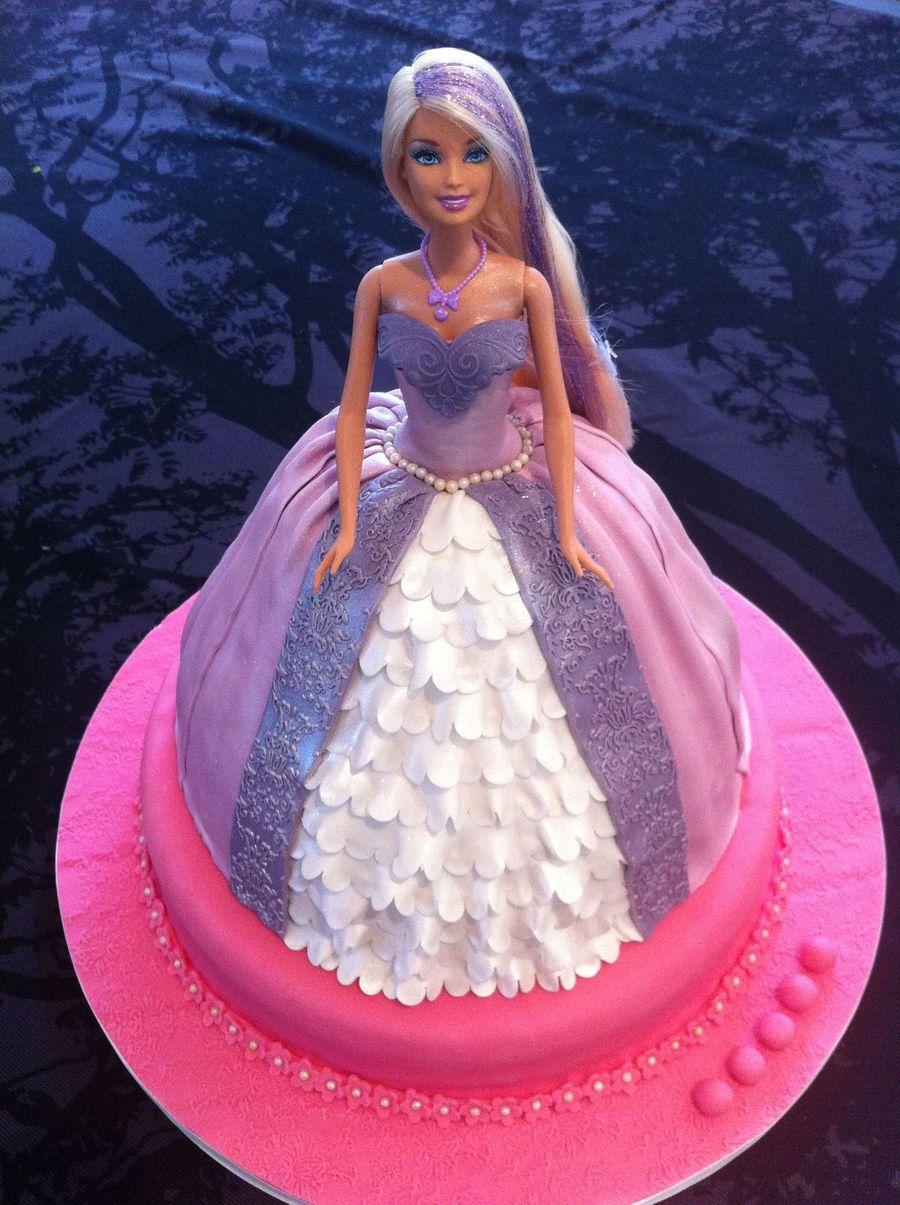 Barbie Cake 3 Cakecentral Com