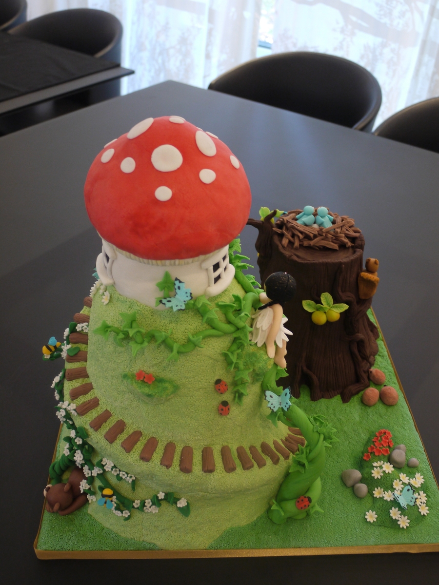 Enchanted Forest Cake Recipe