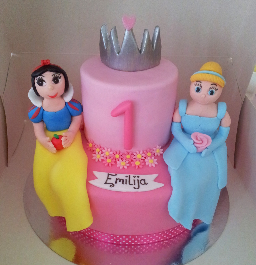 Disney Princess For A Princess Cake on Cake Central