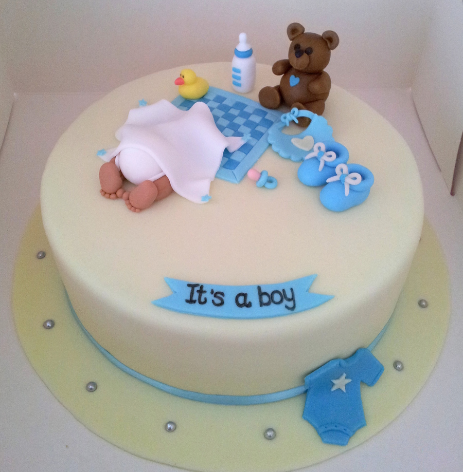 It's A Boy! Babyshower Cake on Cake Central