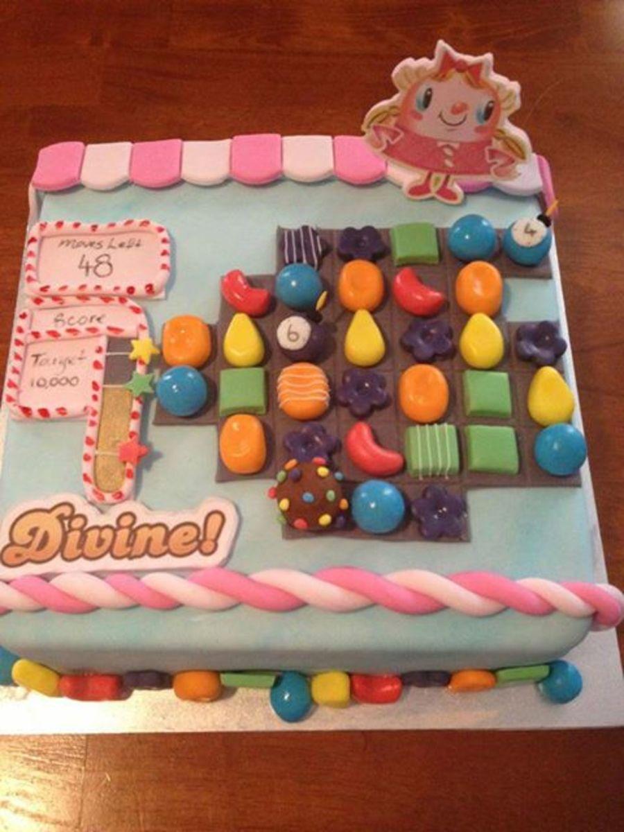 Superb Candy Crush Birthday Cake Cakecentral Com Birthday Cards Printable Opercafe Filternl