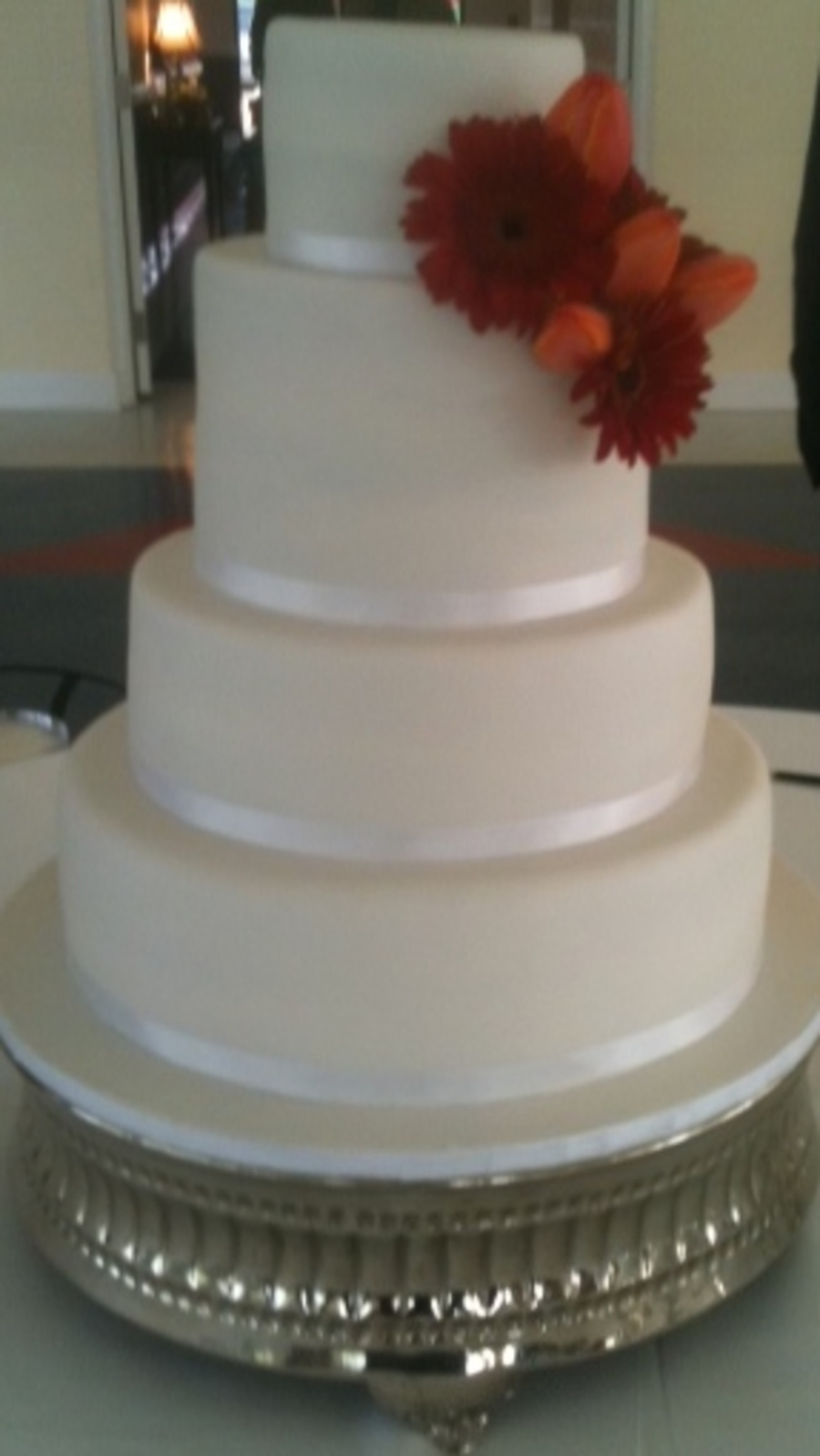 Simple Sleek & Elegant on Cake Central