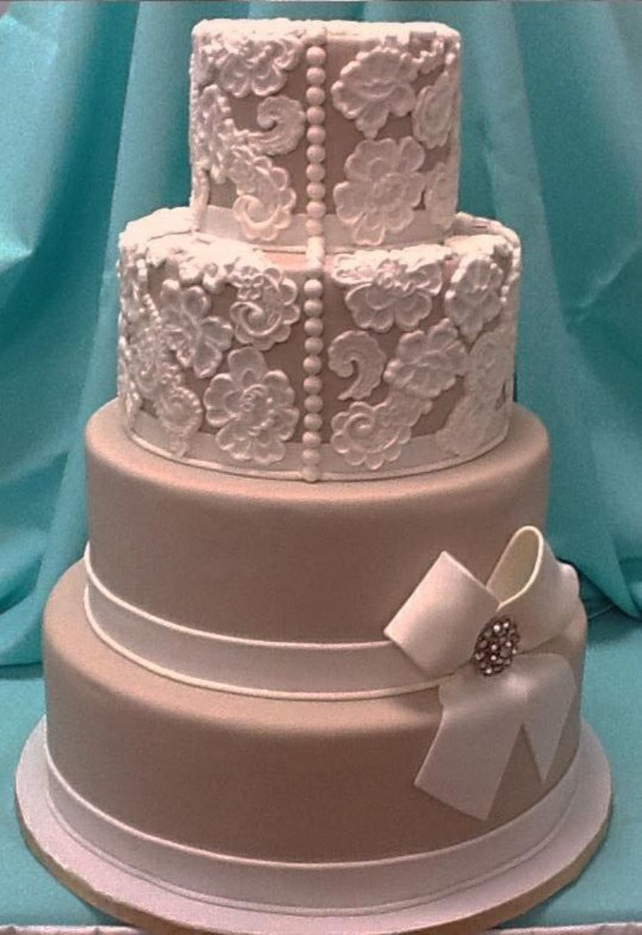 Lace Elagance on Cake Central