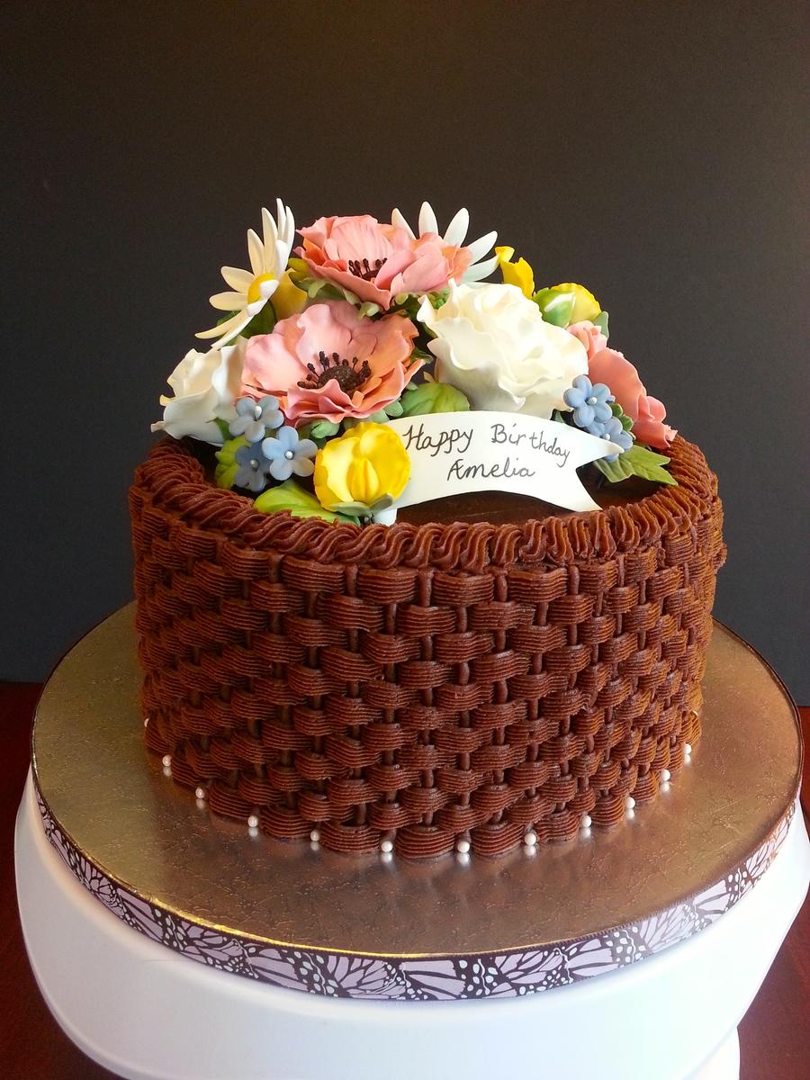 Spring Bloom Cake - CakeCentral.com
