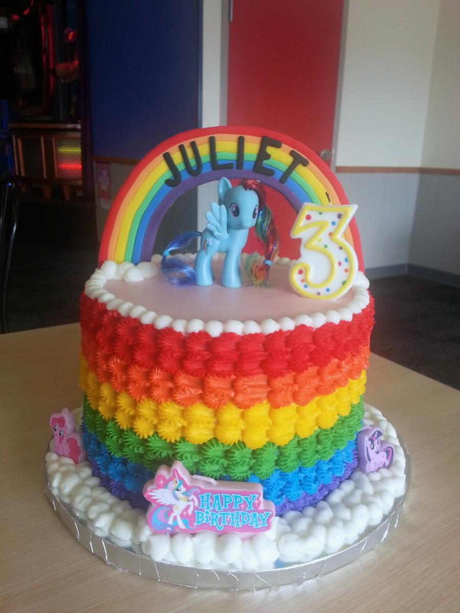 Make D My Little Pony Cake
