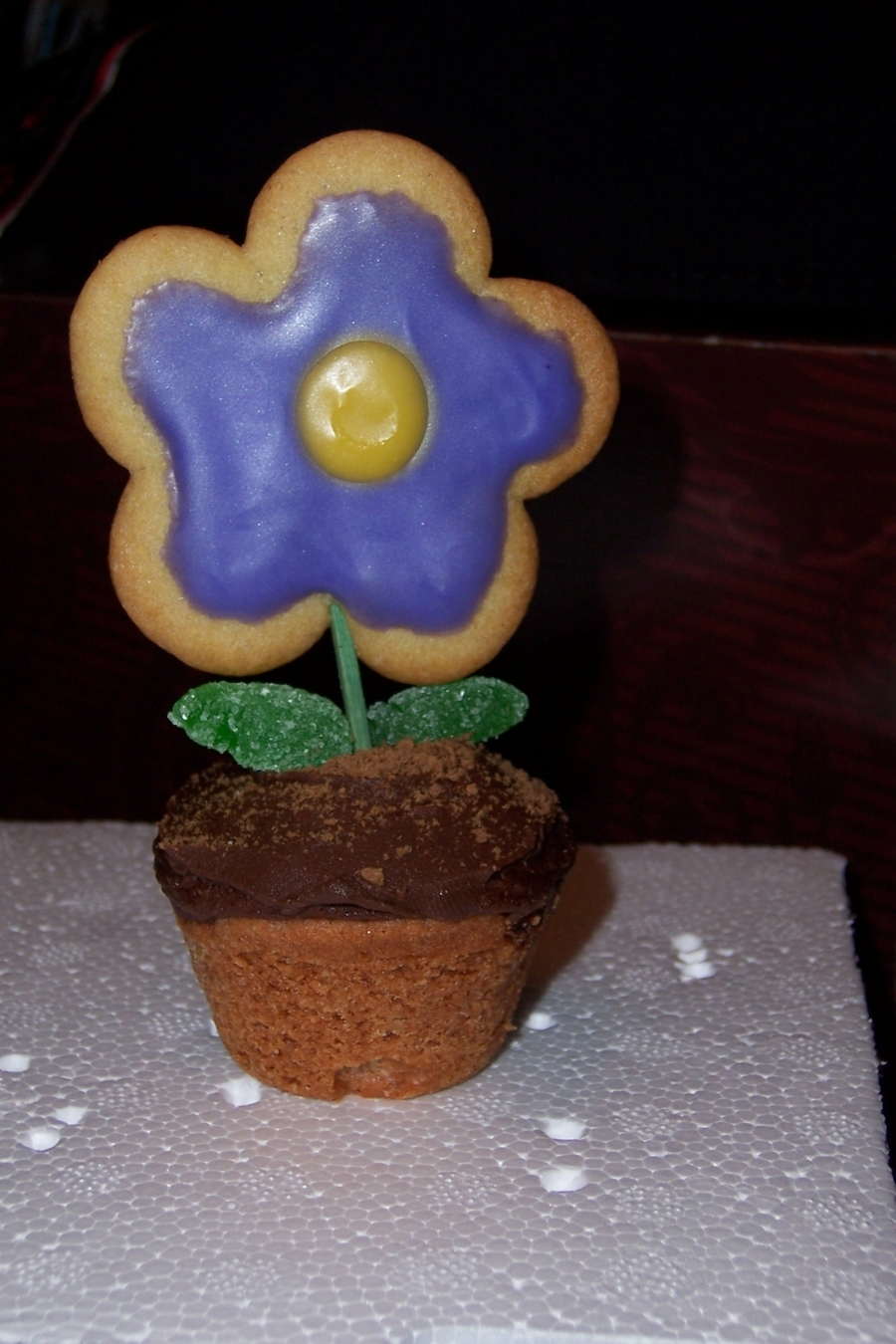 Flowerpot Cupcakes on Cake Central