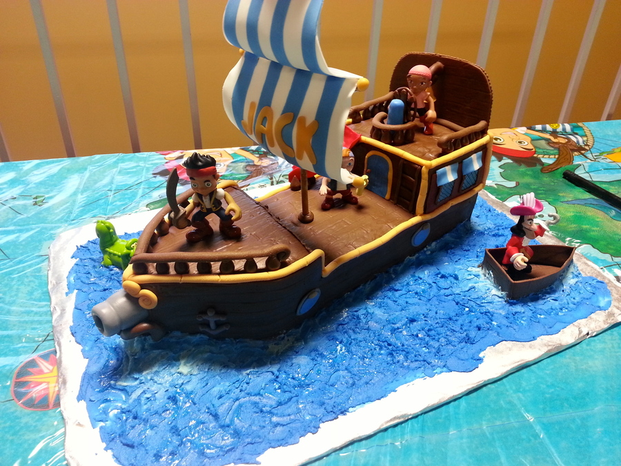 Jake And The Neverland Pirates Birthday Cake Asda