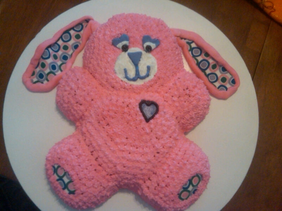 Pink Rabbit on Cake Central