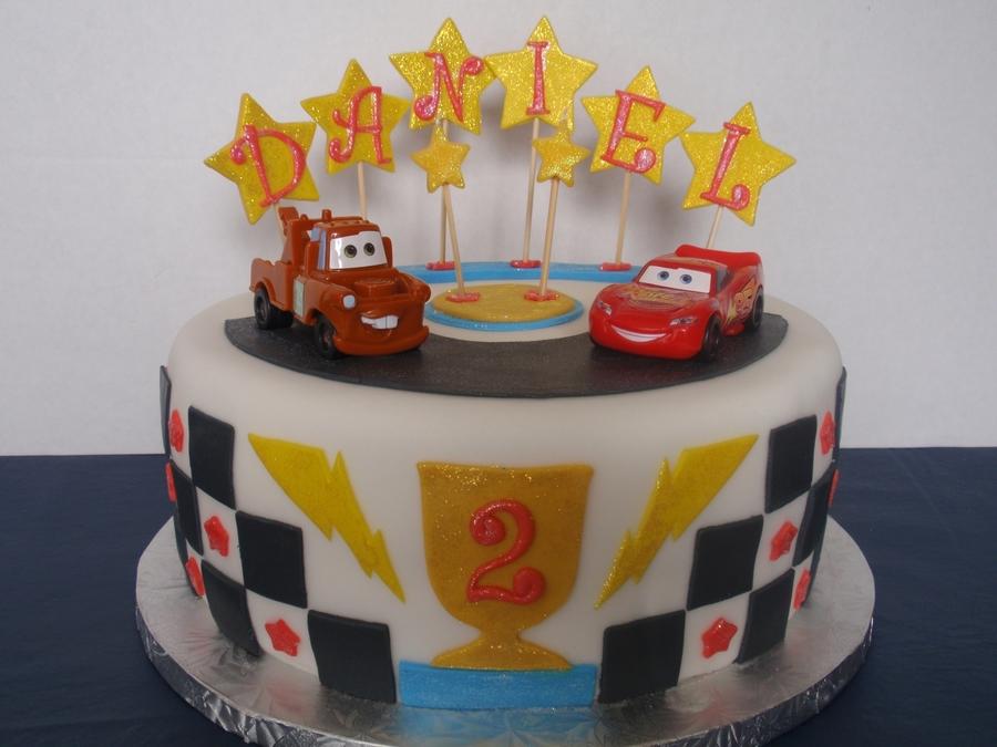 Brilliant Disney Cars Birthday Cake Cakecentral Com Funny Birthday Cards Online Alyptdamsfinfo