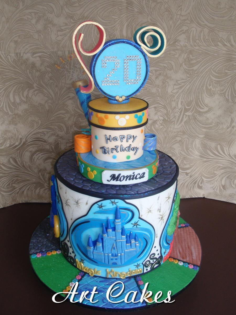 Disneyworld Birthday Cake CakeCentralcom