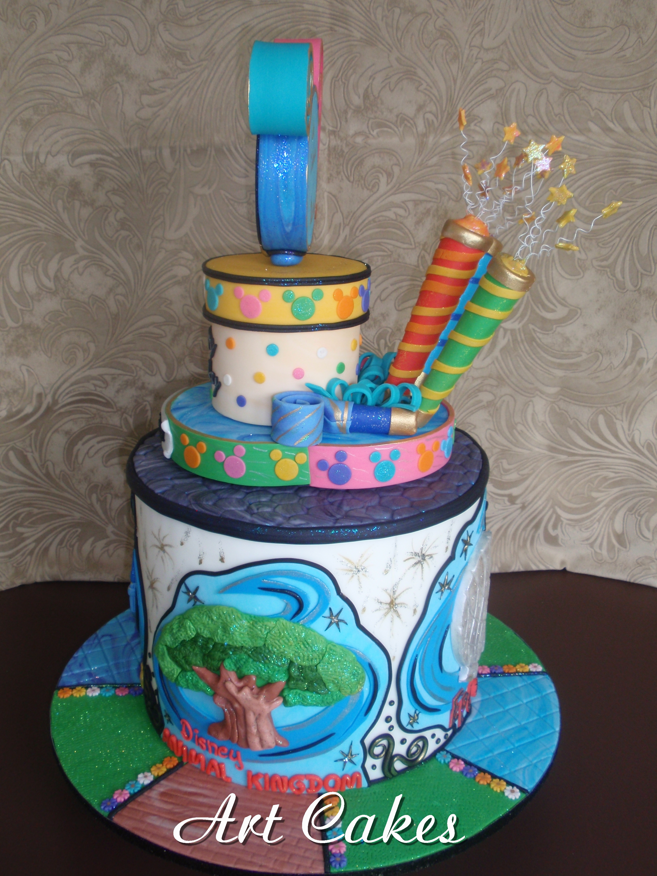 Astounding Disneyworld Birthday Cake Cakecentral Com Funny Birthday Cards Online Inifofree Goldxyz