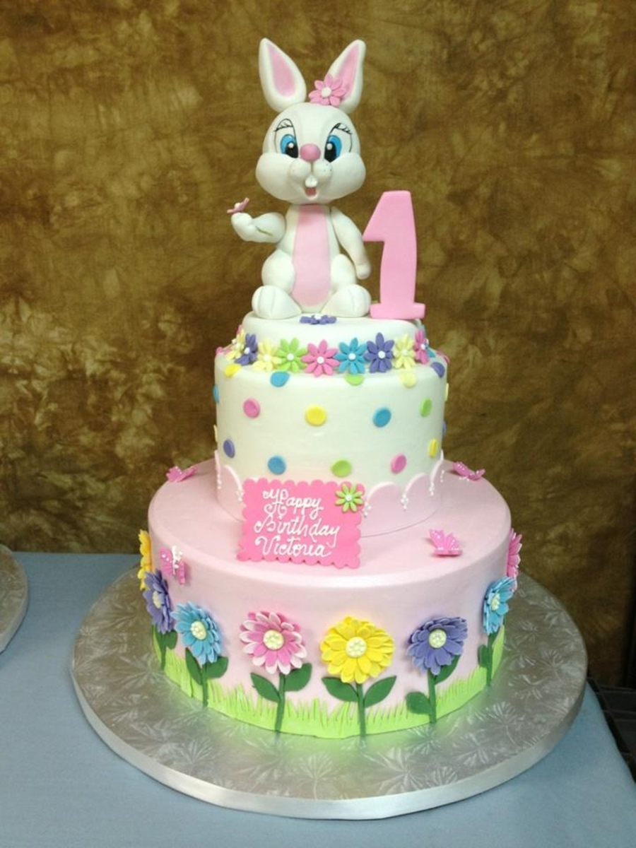 Easter Bunny Birthday Cake On Central