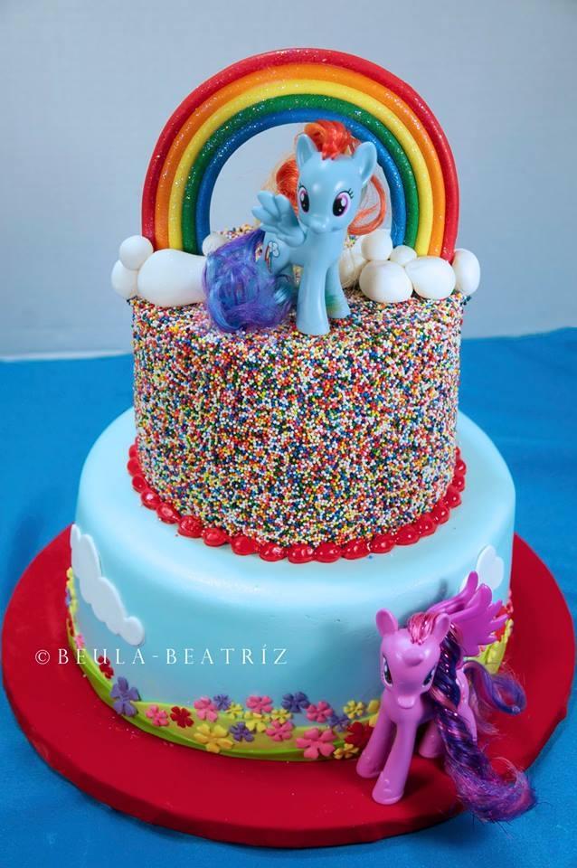 Pony Themed Birthday Cakes